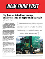 Big banks tried to run my business into the ground: lawsuit